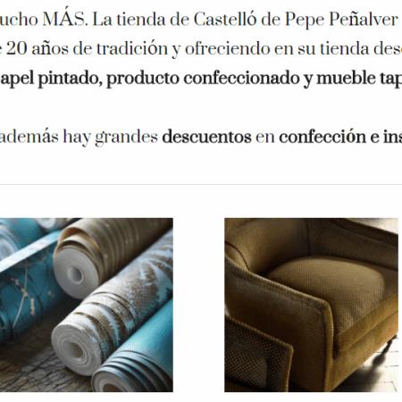 Agency todo sobre tapicer a telas y mobiliario - Pepe penalver telas ...